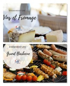EVENEMENTS UFE VINS ET FROMAGES ET BBQ