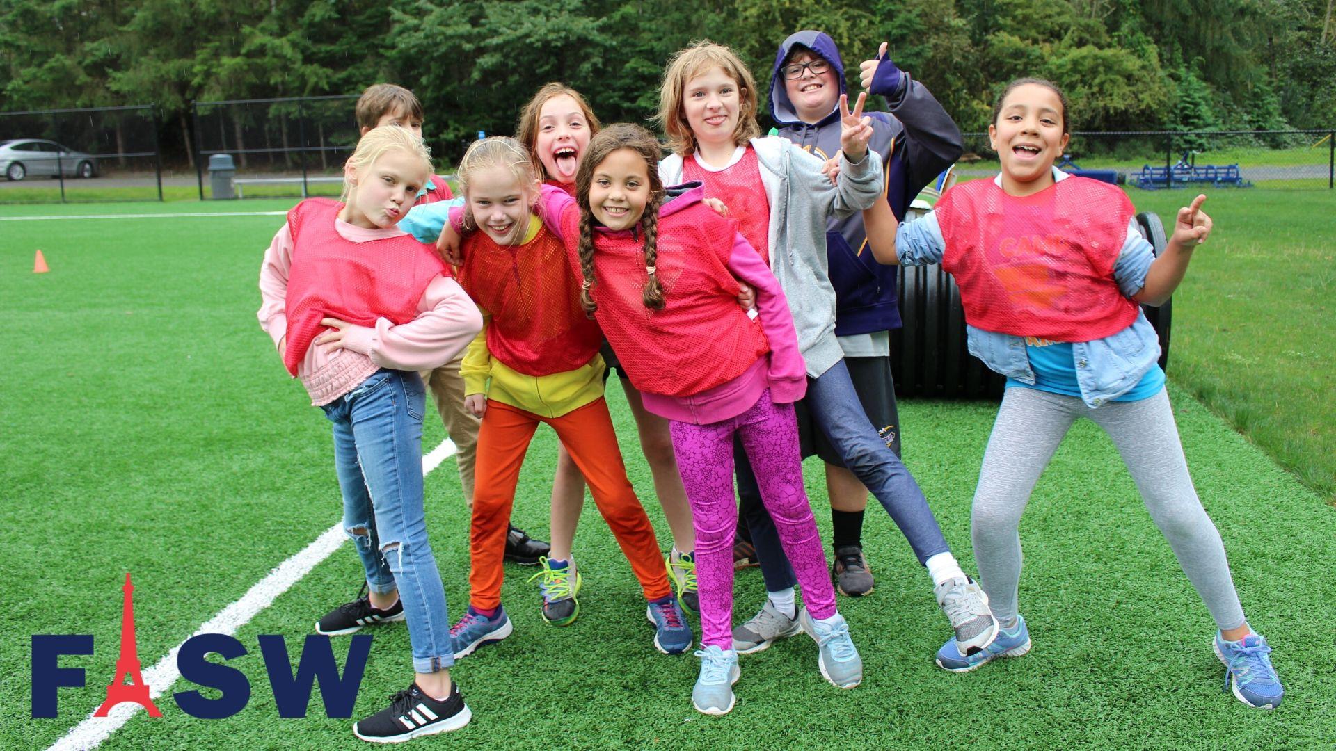 FISW 5th graders are happy in Sambica